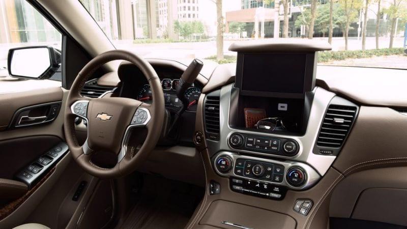 2018 chevrolet suburban history on wheels for Chevrolet suburban interior parts