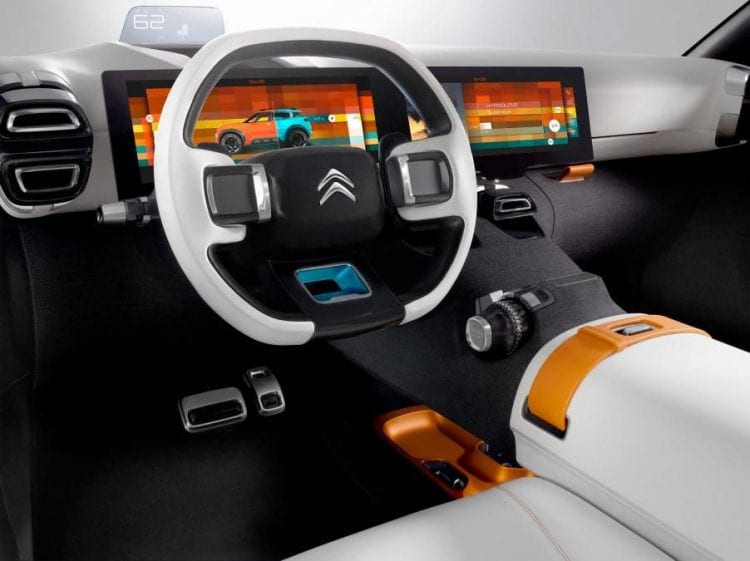 2018 Citroen C5 Aircross interior
