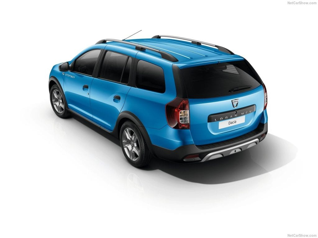 2018 dacia logan mcv stepway design price specs. Black Bedroom Furniture Sets. Home Design Ideas