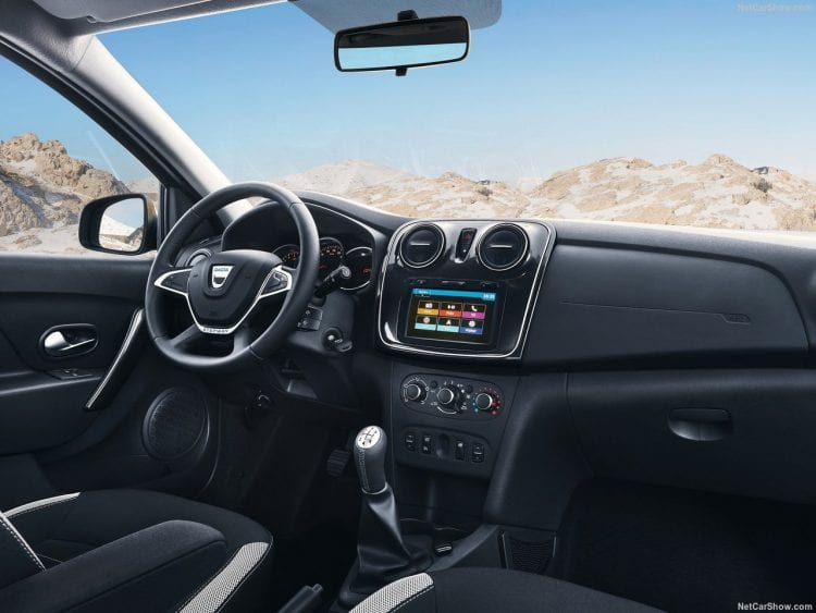 2018 Dacia Logan MCV Stepway interior