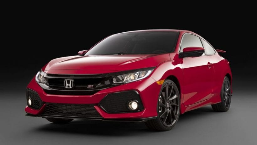2018 Honda Civic Si New Leaked Info About Upcoming Model