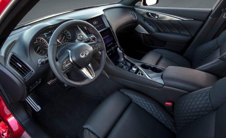 2018 Infiniti Q50 interior