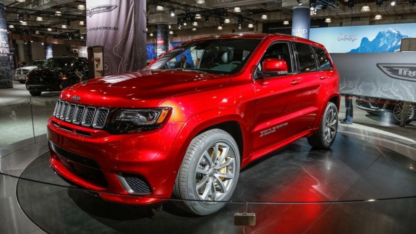 Jeep grand cherokee redesign 2018