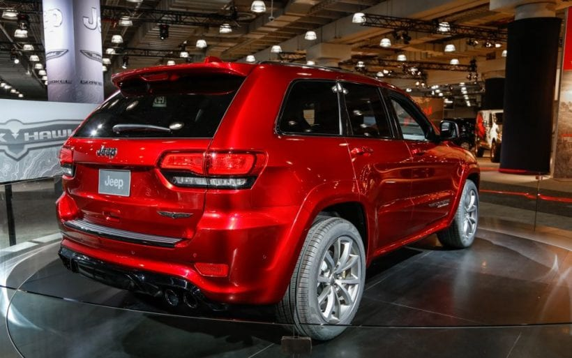 2018 Jeep Grand Cherokee Trackhawk Hellcat >> 2018 Jeep Grand Cherokee Release date, Redesign, New generation