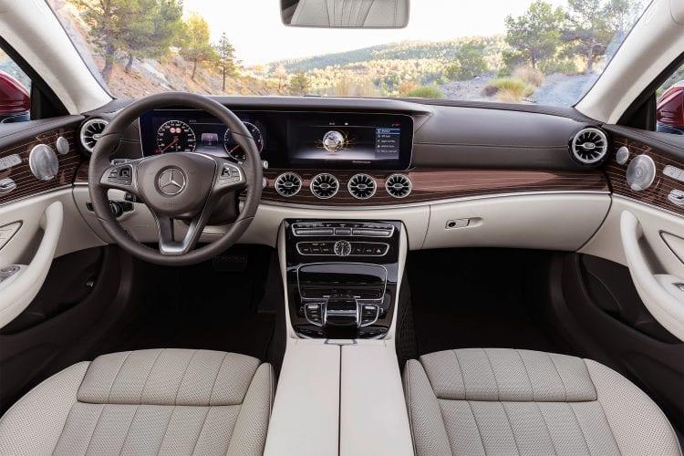 2018 Mercedes-Benz E400 Coupe interior