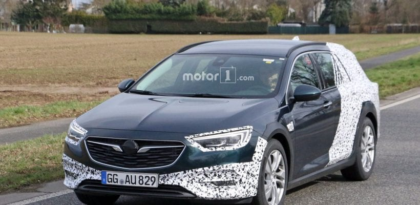 2018 Opel Insignia Country Tourer Spy Photos Price Release Date
