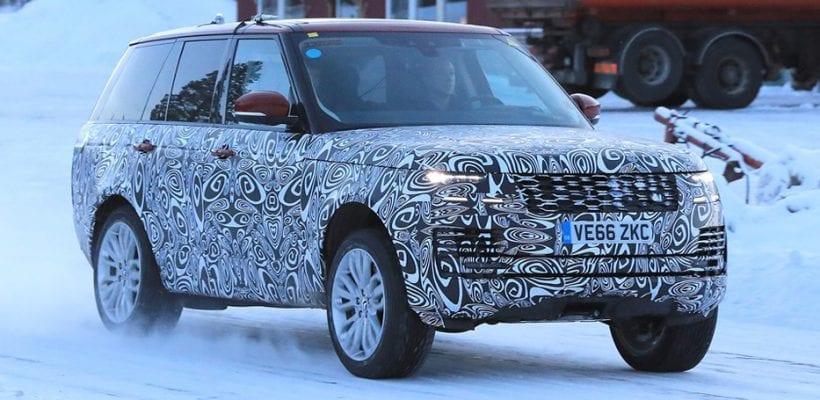 2018 Range Rover Sport E PHEV Hybrid