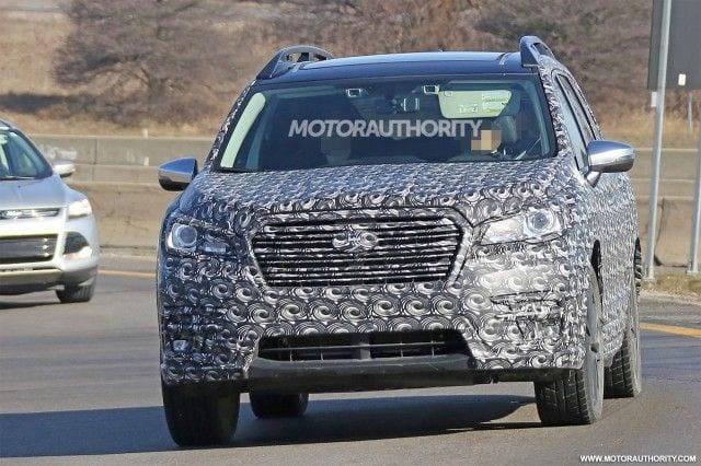 2018 Subaru Ascent - Spy Photos, Price, Release date ...