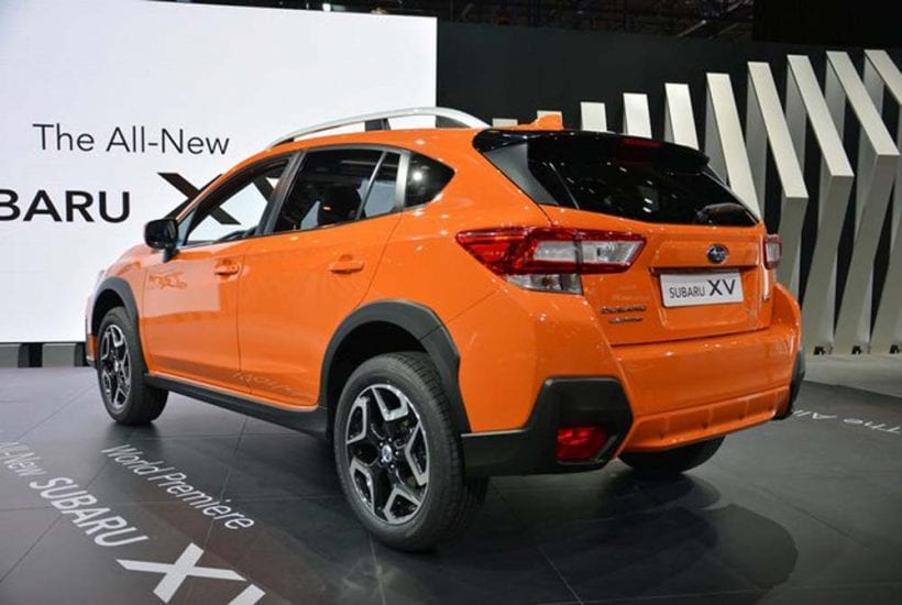 2018 subaru crosstrek price design specs interior. Black Bedroom Furniture Sets. Home Design Ideas