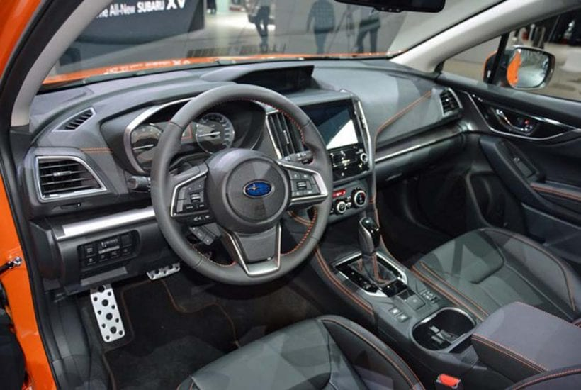 Subaru Crosstrek Interior Photos 2015 Subaru Xv Crosstrek Interior Youtube 2018 Subaru