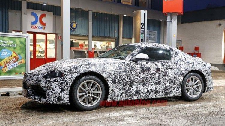 2018 Toyota Supra Spy Shots