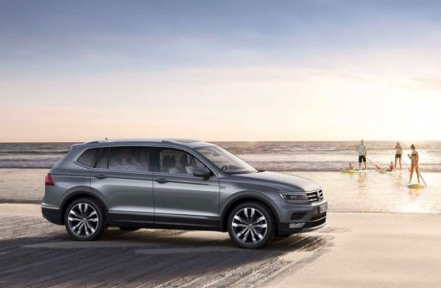 2018 volkswagen tiguan allspace price specs release. Black Bedroom Furniture Sets. Home Design Ideas