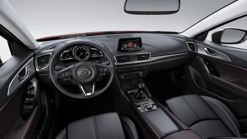 Mazda 3 vs Honda Civic Hatchback interior