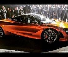 McLaren 720S Leaked Image