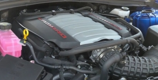 Mustang vs Camaro engine