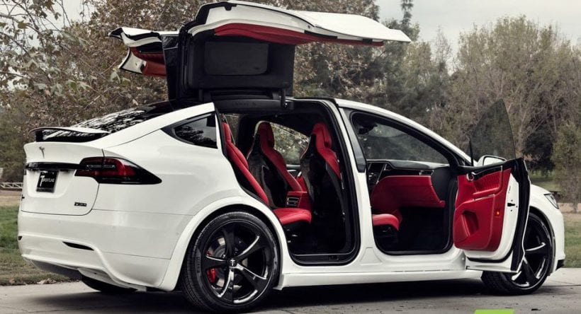 Tesla Model X with Bentley's interior - News & Automotive News ...