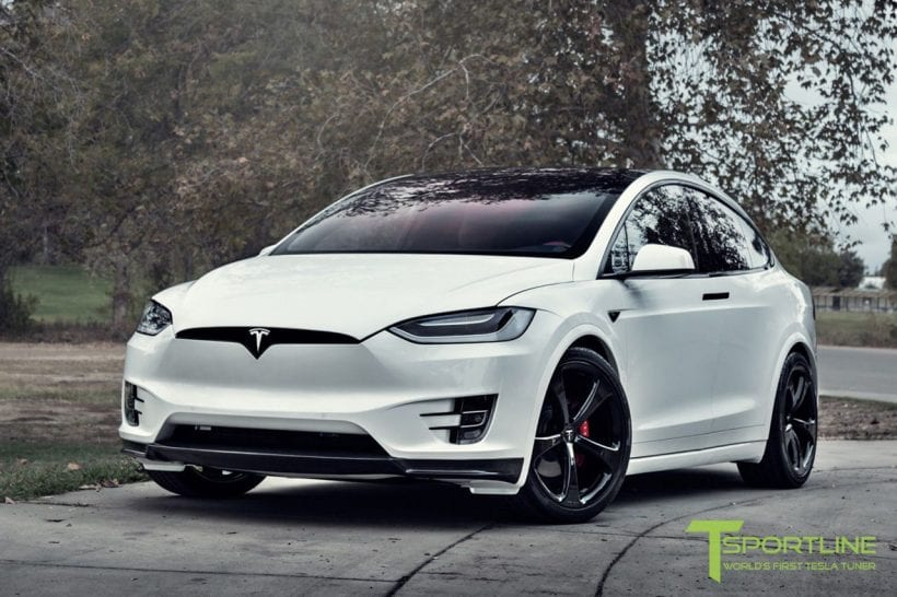 Tesla Model X with Bentley's interior