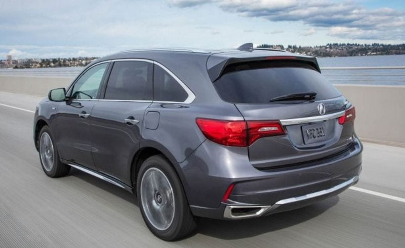 2017 acura mdx sport hybrid design price interior. Black Bedroom Furniture Sets. Home Design Ideas