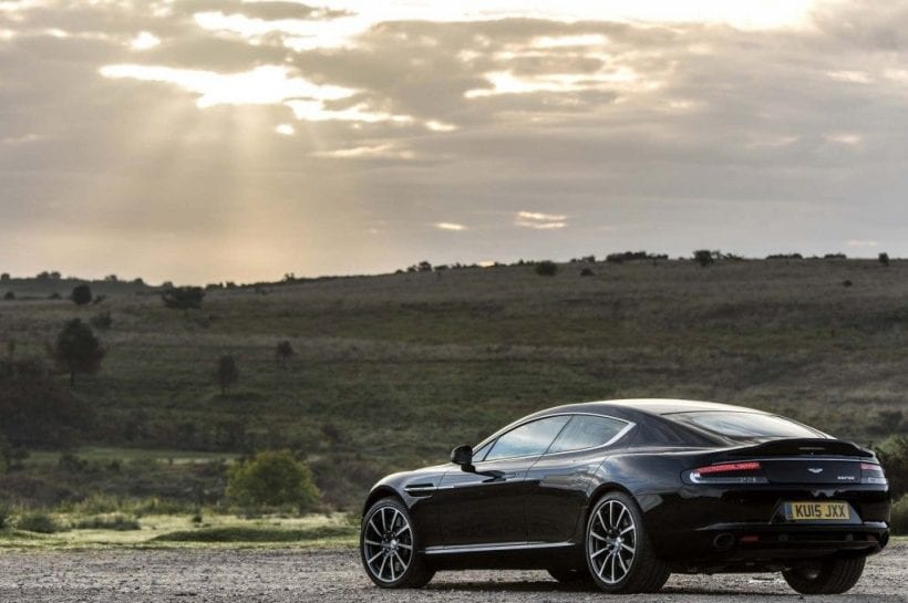 2017 Aston Martin Rapide S back view