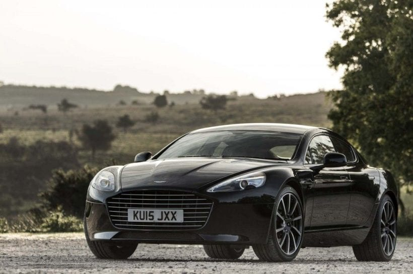 2017 Aston Martin Rapide S front view