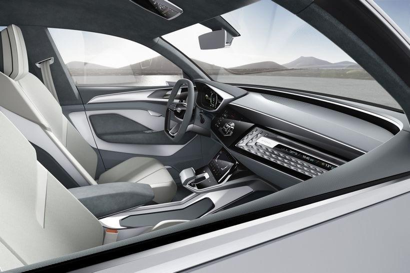 2017 Audi e-tron Sportback interior