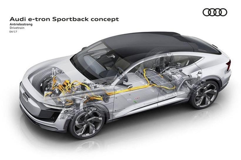 2017 Audi e-tron Sportback engine