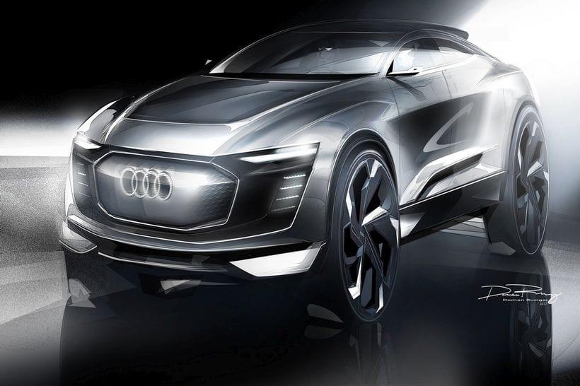 2017 Audi E-Tron Sportback, Concept, Release date