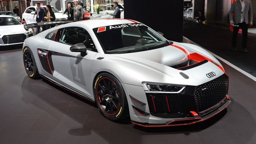 2017 Audi R8 LMS GT4 top view