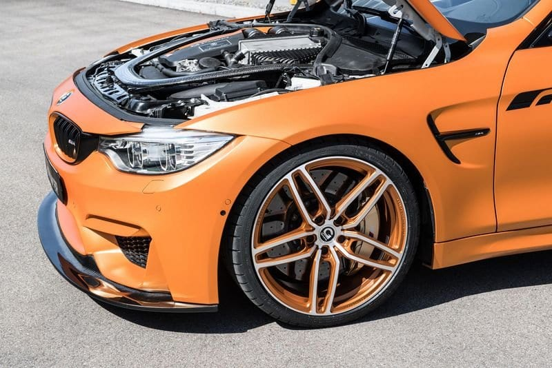 2017 BMW M4 By G-Power engine