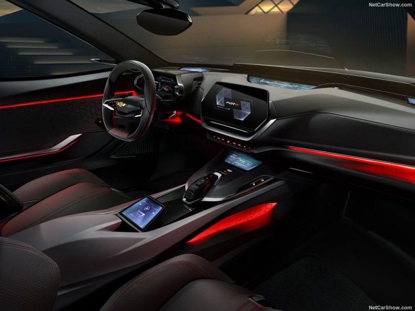 2017 Chevrolet FNR-X Concept interior