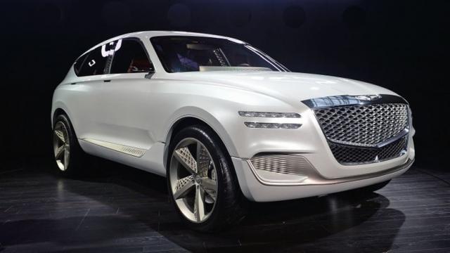 2017 Genesis GV80 styling