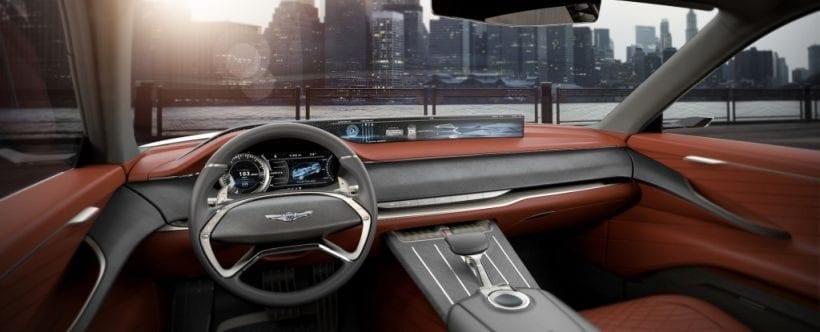 2017 Genesis GV80 interior