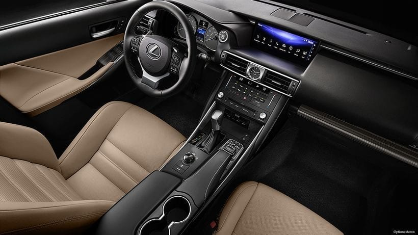 2017 Lexus IS 200T interior