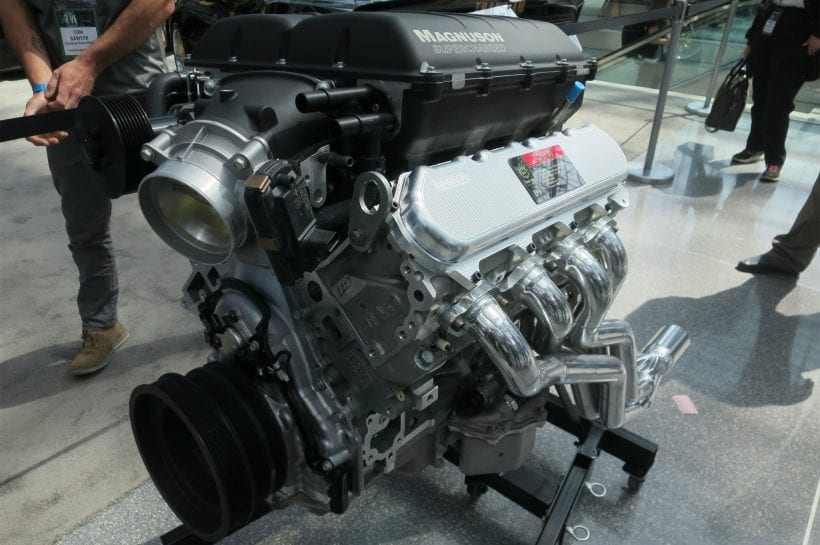 2017 Trans Am 455 Super Duty engine
