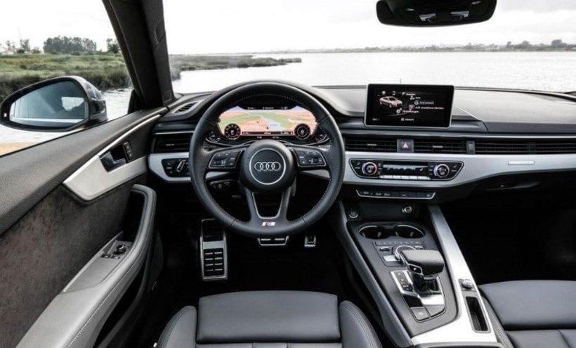 2018 Audi A5 interior
