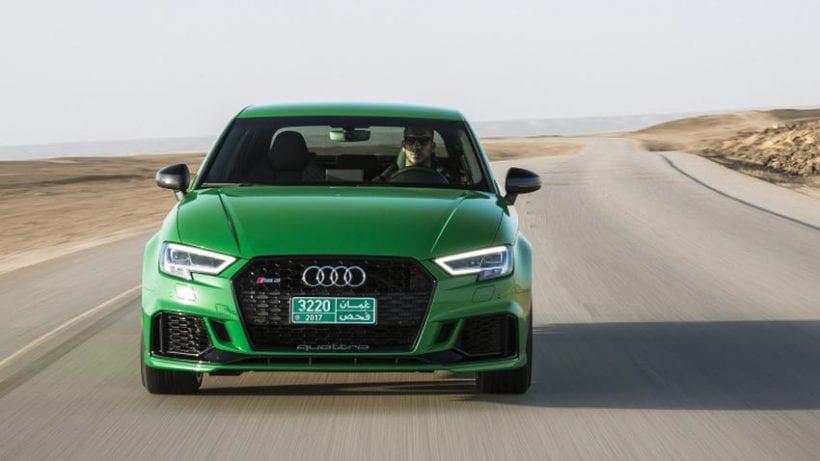 2018 Audi RS3 Sedan front view
