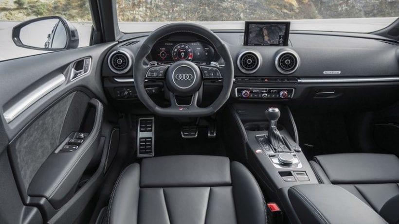 2018 Audi RS3 Sedan interior