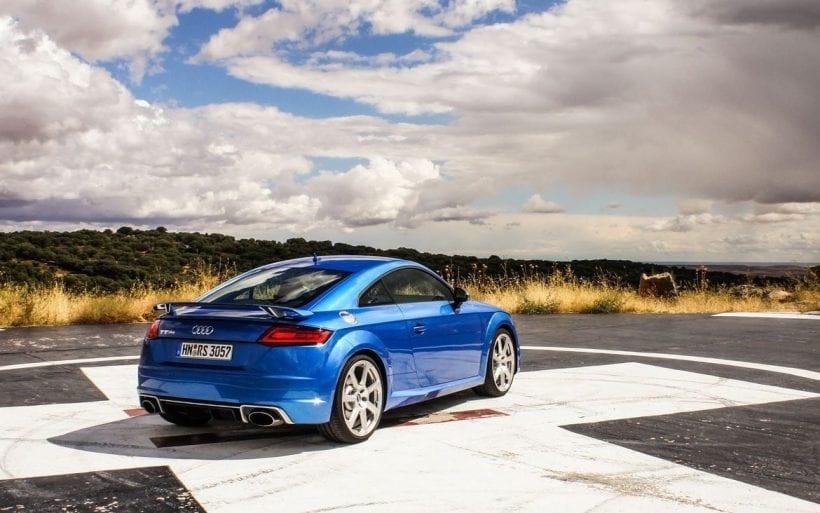 2018 Audi TT RS rear