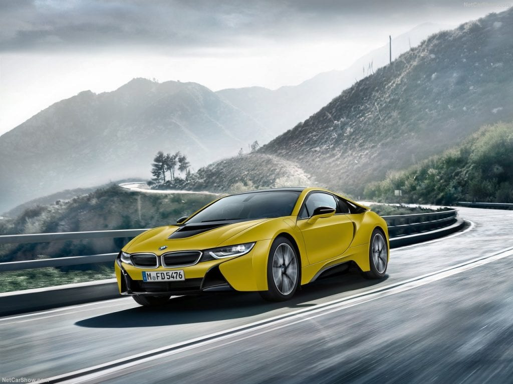 2018 Bmw I8 Protonic Frozen Yellow Price Specs