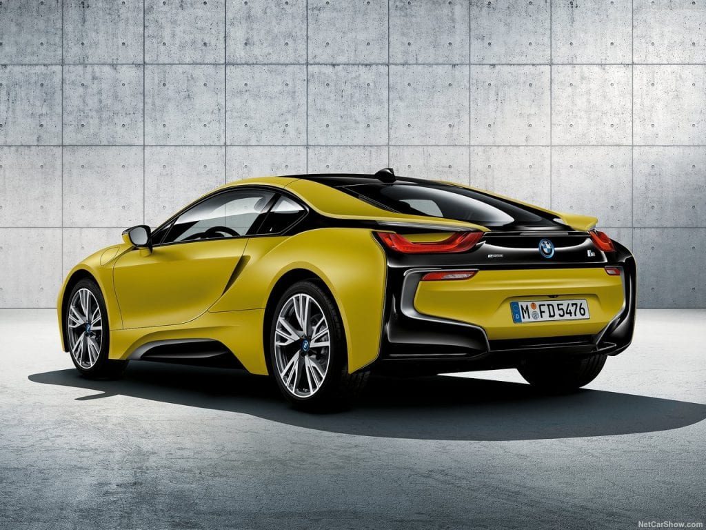 2018 BMW i8 Protonic Frozen Yellow