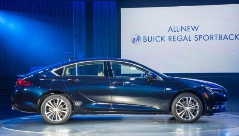 2018 buick regal sportback specs price release date engine. Black Bedroom Furniture Sets. Home Design Ideas