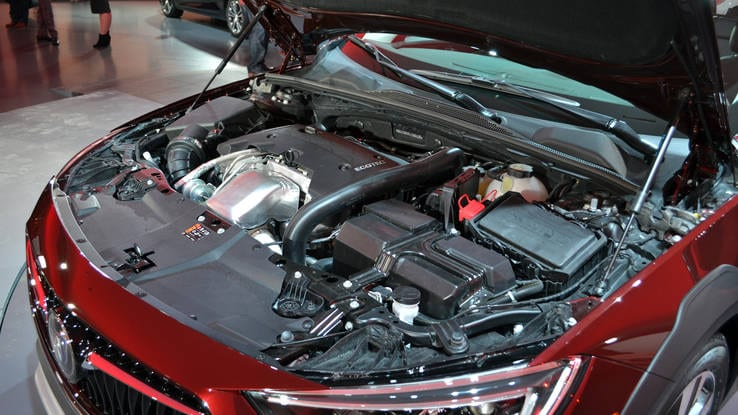 2018 Buick Regal TourX engine
