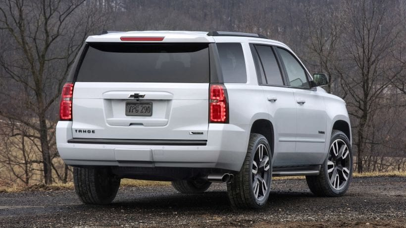 2018 Chevrolet Tahoe RST rear