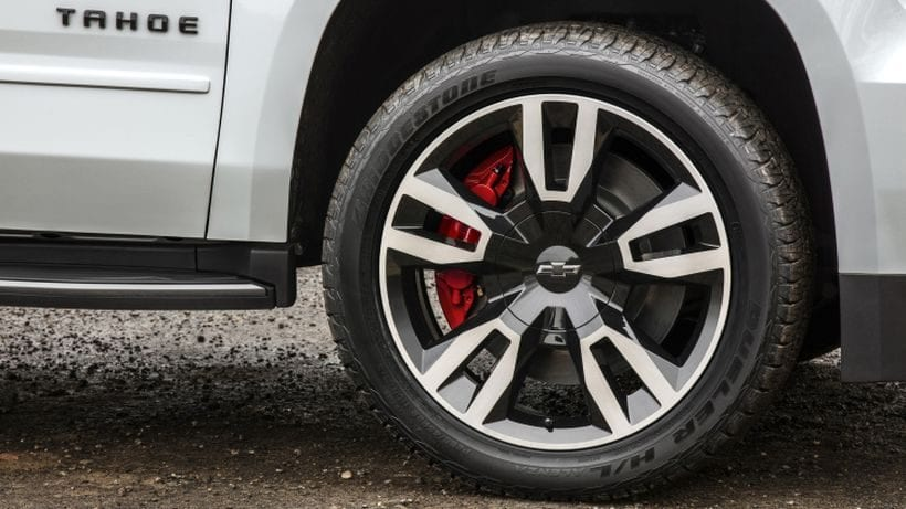 2018 Chevrolet Tahoe RST wheel