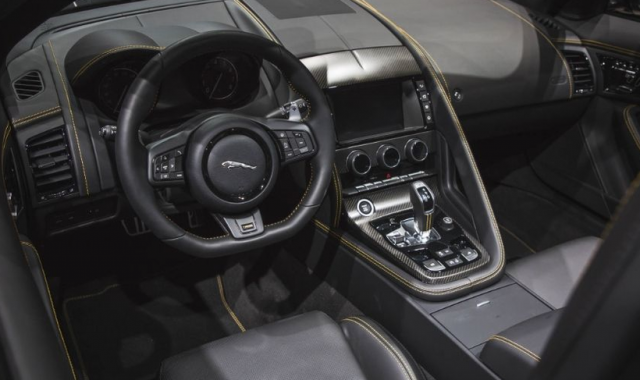 2018 Jaguar F-Type interior