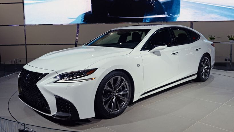 2018 lexus ls 500 f sport price release date review performance. Black Bedroom Furniture Sets. Home Design Ideas