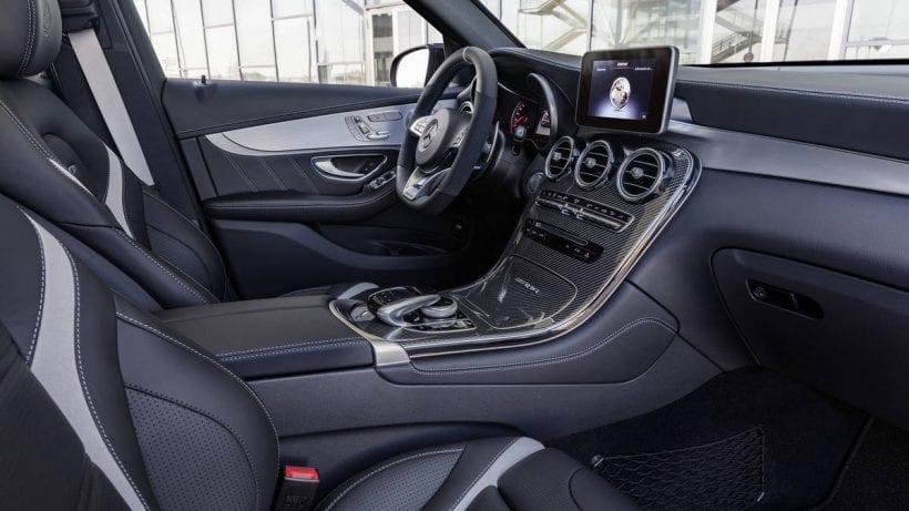 2018 Mercedes-AMG GLC 63 interior