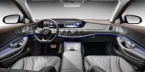 2018 Mercedes-Maybach S-Class interior