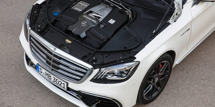 2018 Mercedes-Maybach S-Class engine