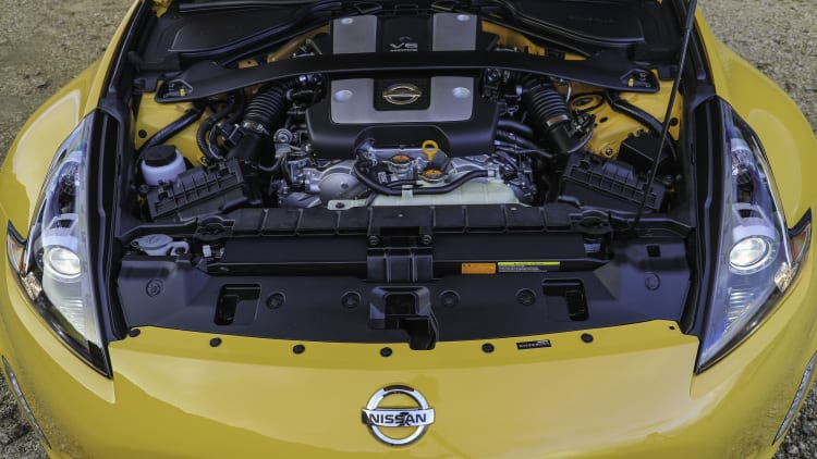 2018 Nissan 370Z Heritage Edition engine
